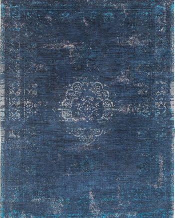 tapis Louis De Poortere LX8254 Fading World Medaillon Blue Night