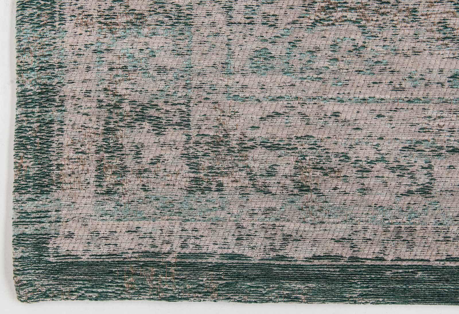 tapis Louis De Poortere LX8259 Fading World Medaillon Jade Oyster corner
