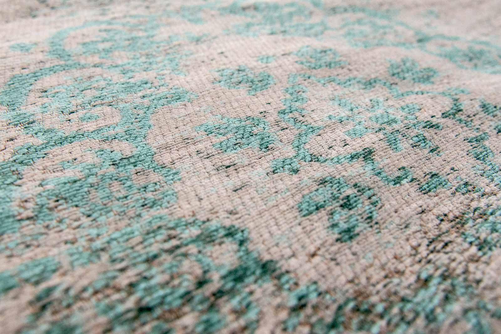 tapis Louis De Poortere LX8259 Fading World Medaillon Jade Oyster zoom