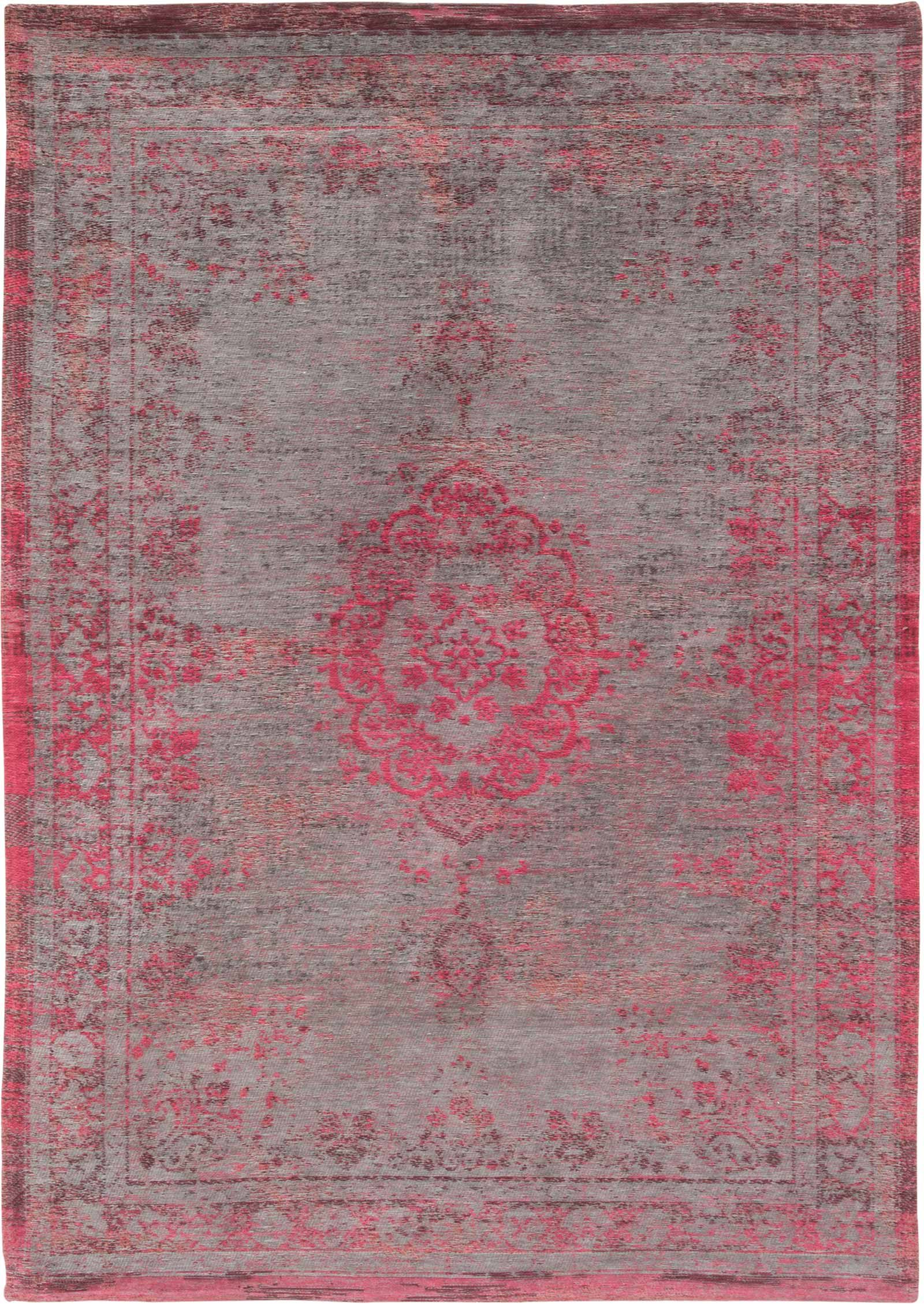 tapis Louis De Poortere LX8261 Fading World Medaillon Pink Flash
