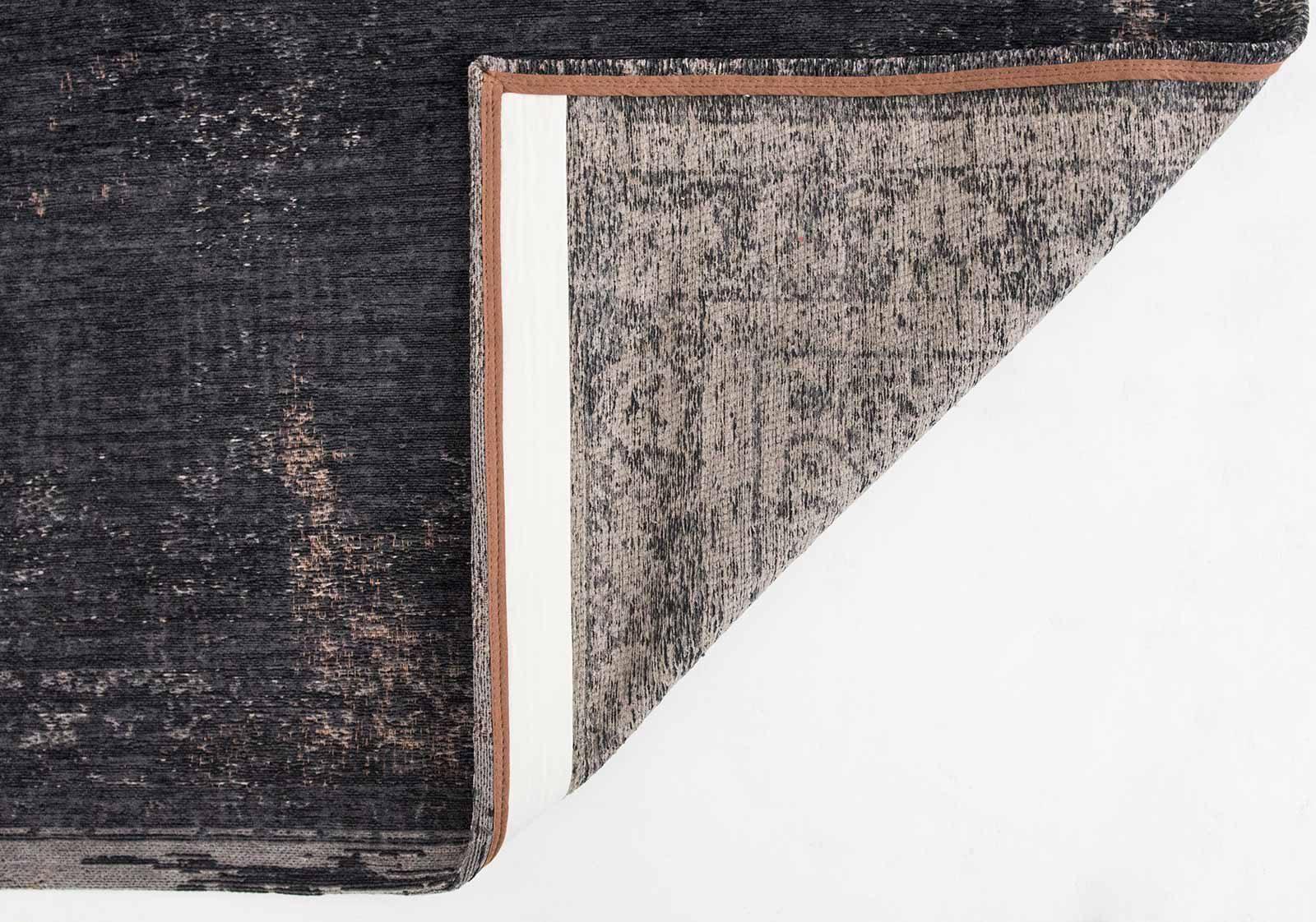 tapis Louis De Poortere LX8263 Fading World Medaillon Mineral Black back