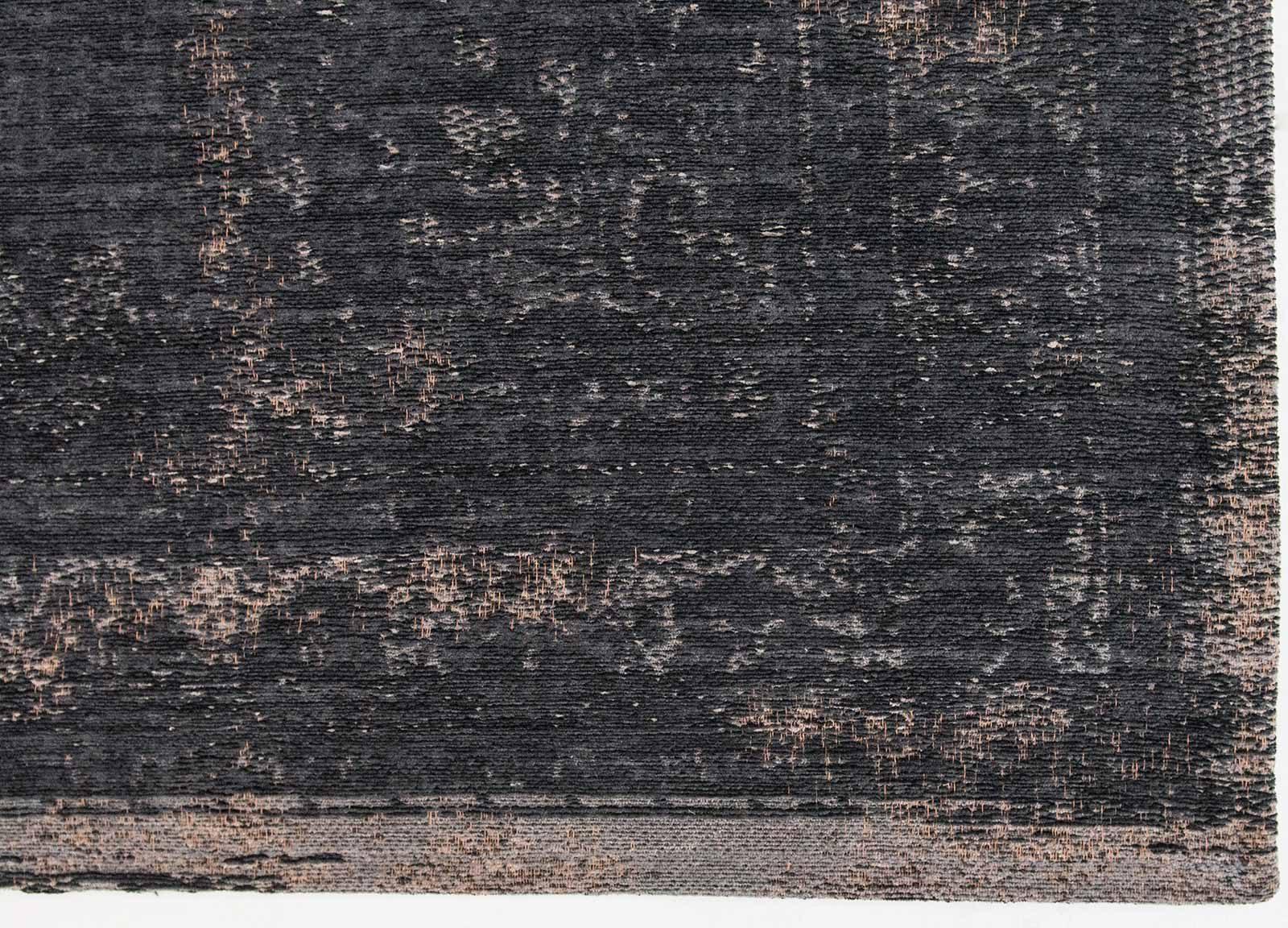 tapis Louis De Poortere LX8263 Fading World Medaillon Mineral Black corner