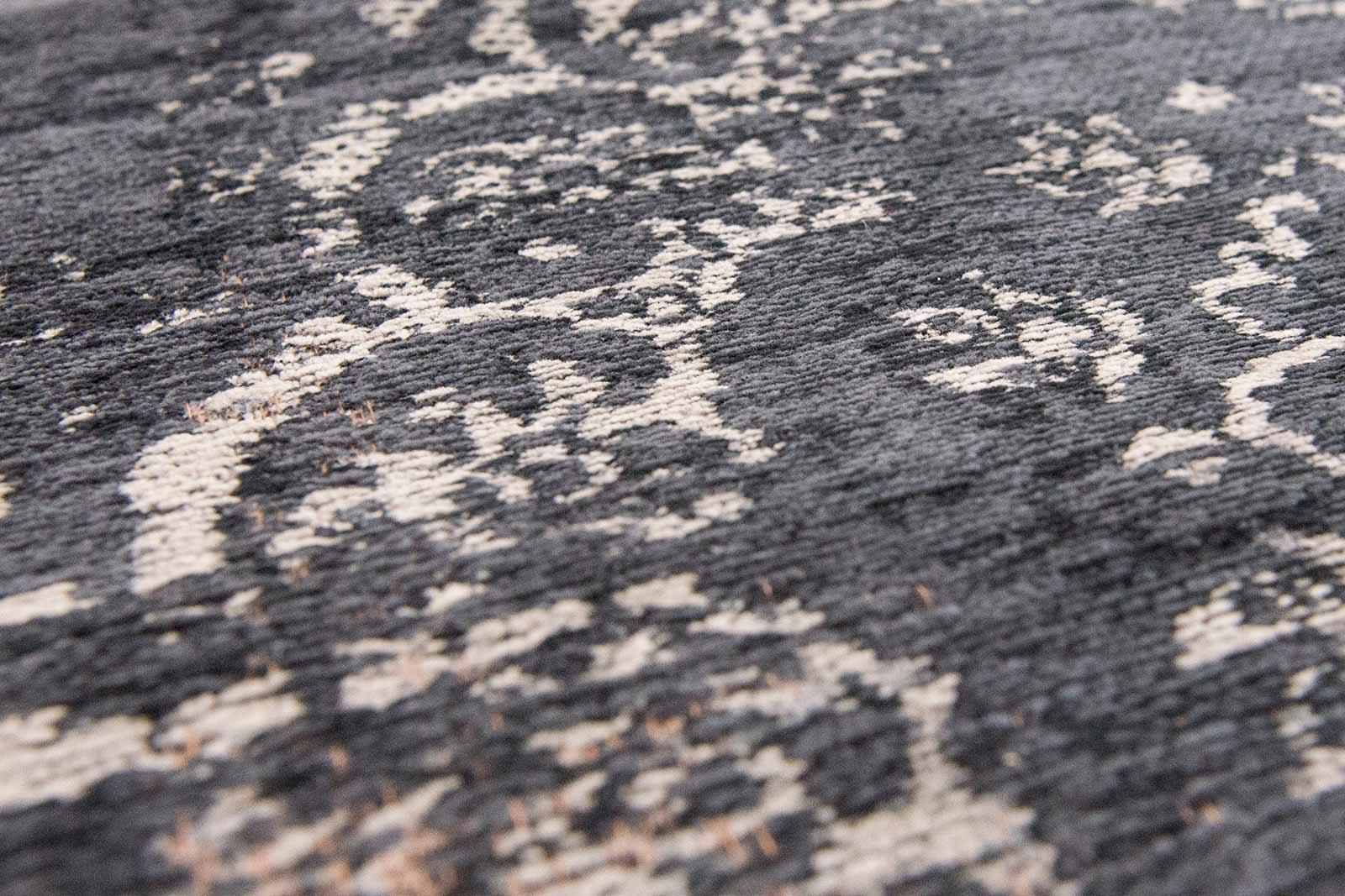 tapis Louis De Poortere LX8263 Fading World Medaillon Mineral Black zoom
