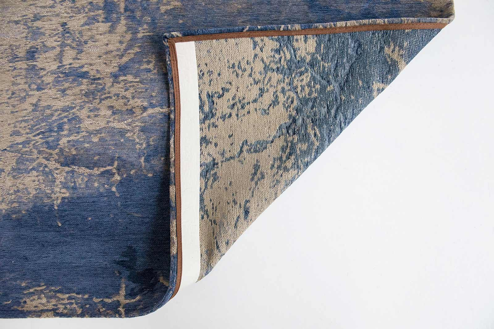 tapis Louis De Poortere LX8629 Mad Men Cracks Abyss Blue back