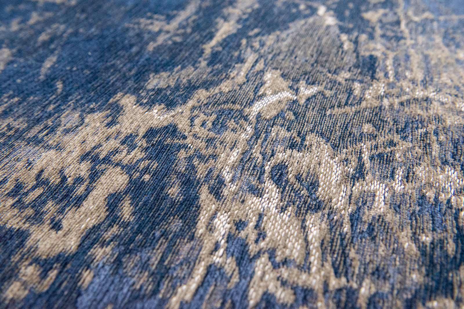 tapis Louis De Poortere LX8629 Mad Men Cracks Abyss Blue zoom