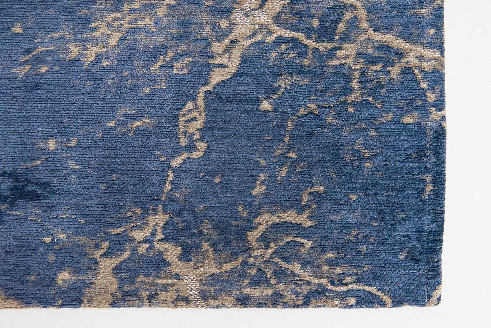 tapis Louis De Poortere LX8629 Mad Men Cracks Abyss Blue zoom 3
