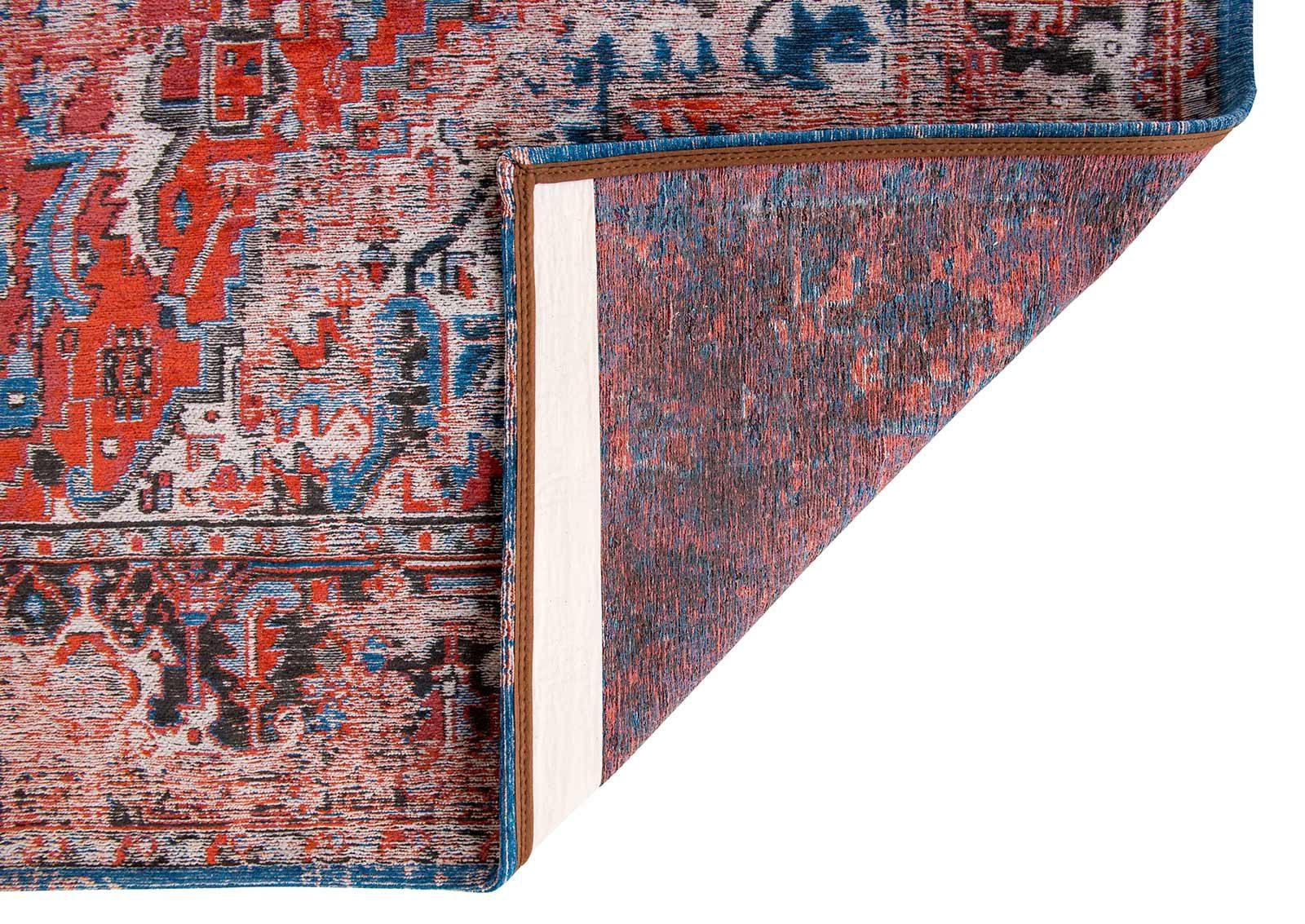 tapis Louis De Poortere LX8703 Antiquarian Antique Heriz Classic Brick back