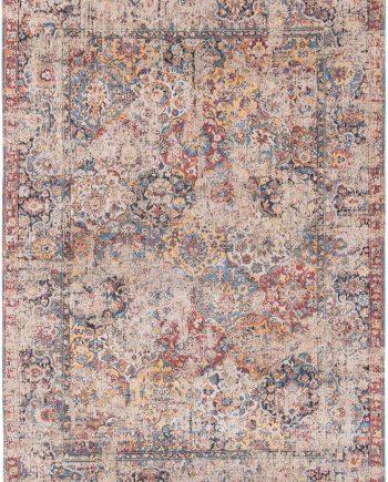 tapis Louis De Poortere LX8713 Antiquarian Antique Bakthiari Khedive Multi
