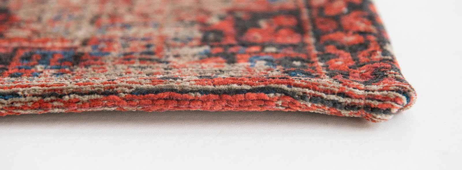 tapis Louis De Poortere LX8719 Antiquarian Antique Hadschlu 782 Red side