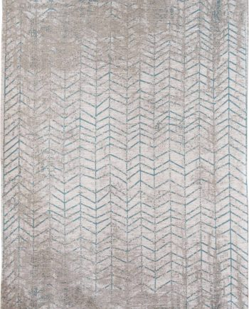 tapis Louis De Poortere LX8927 Mad Men Jacobs Ladder Tribeca Blue