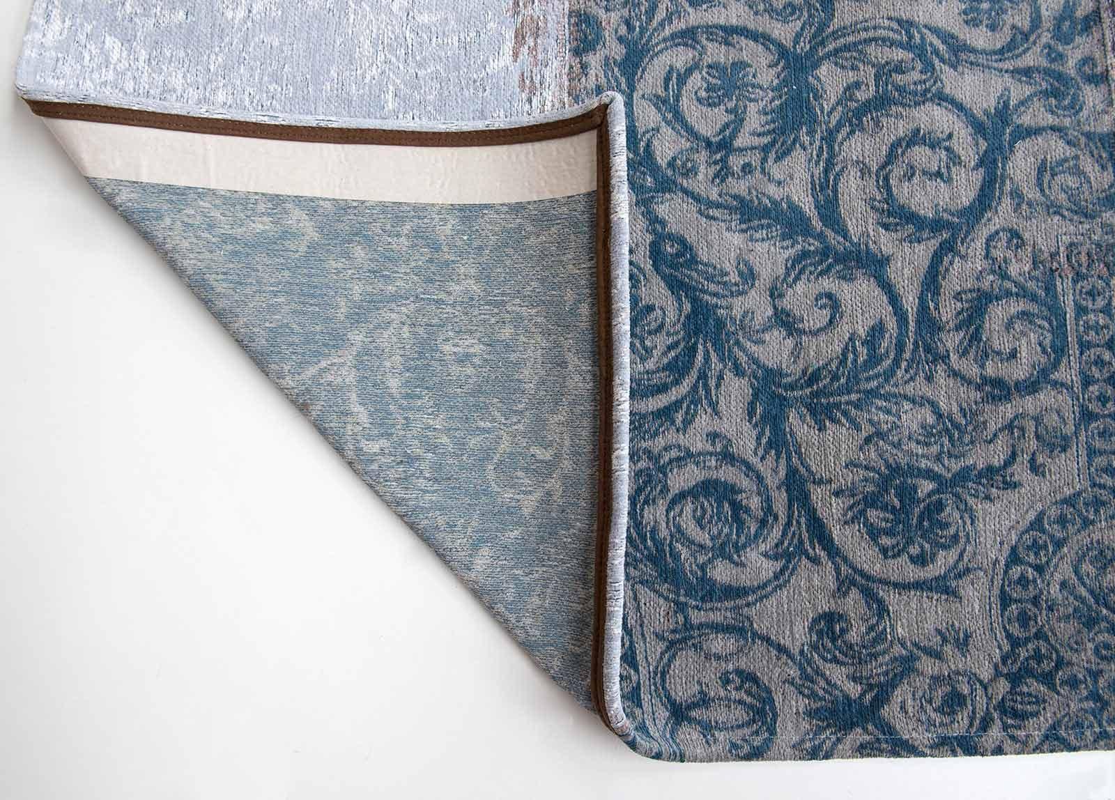 tapis Louis De Poortere LX8981 Vintage Bruges Blue corner