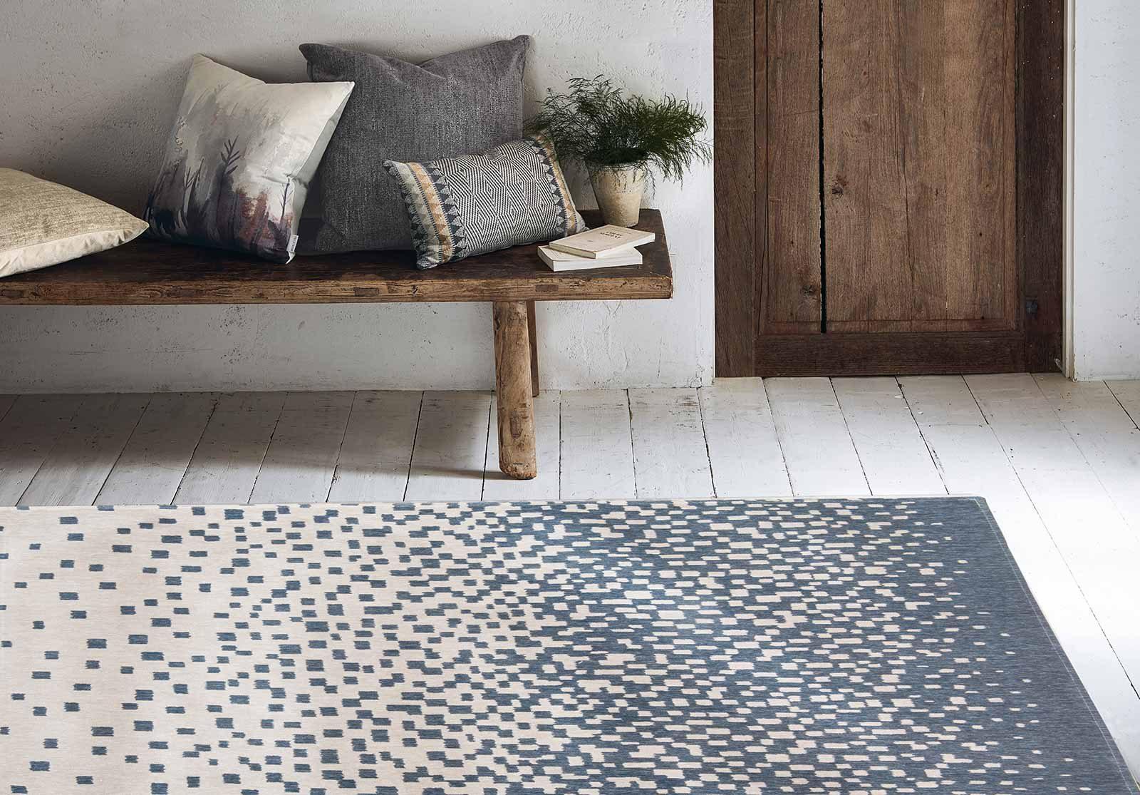 Louis De Poortere tapis Villa Nova LX 8777 Freyr Indigo interior