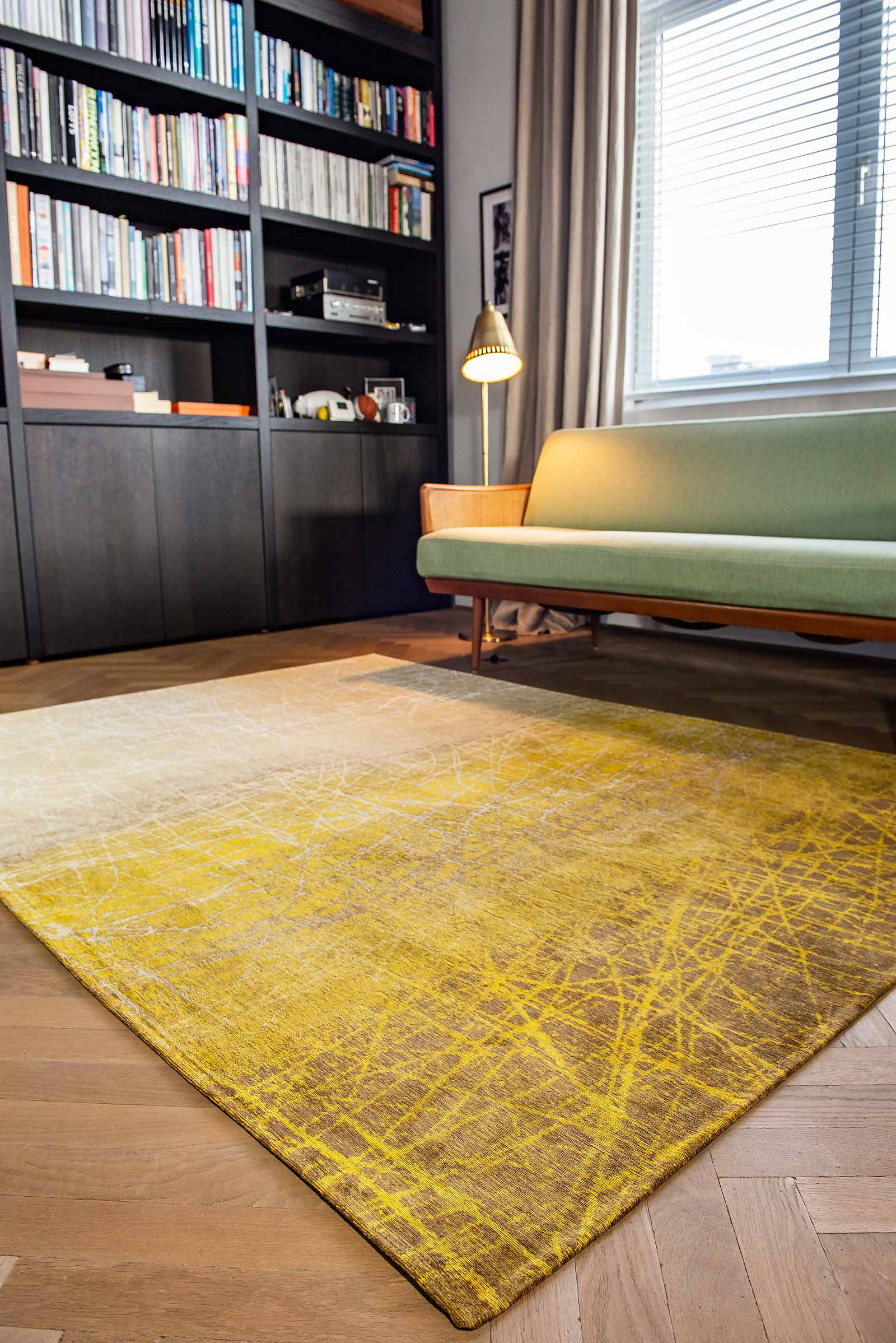 tapis Louis De Poortere LX 8879 Mad Men Fahrenheit New York Fall interior 2