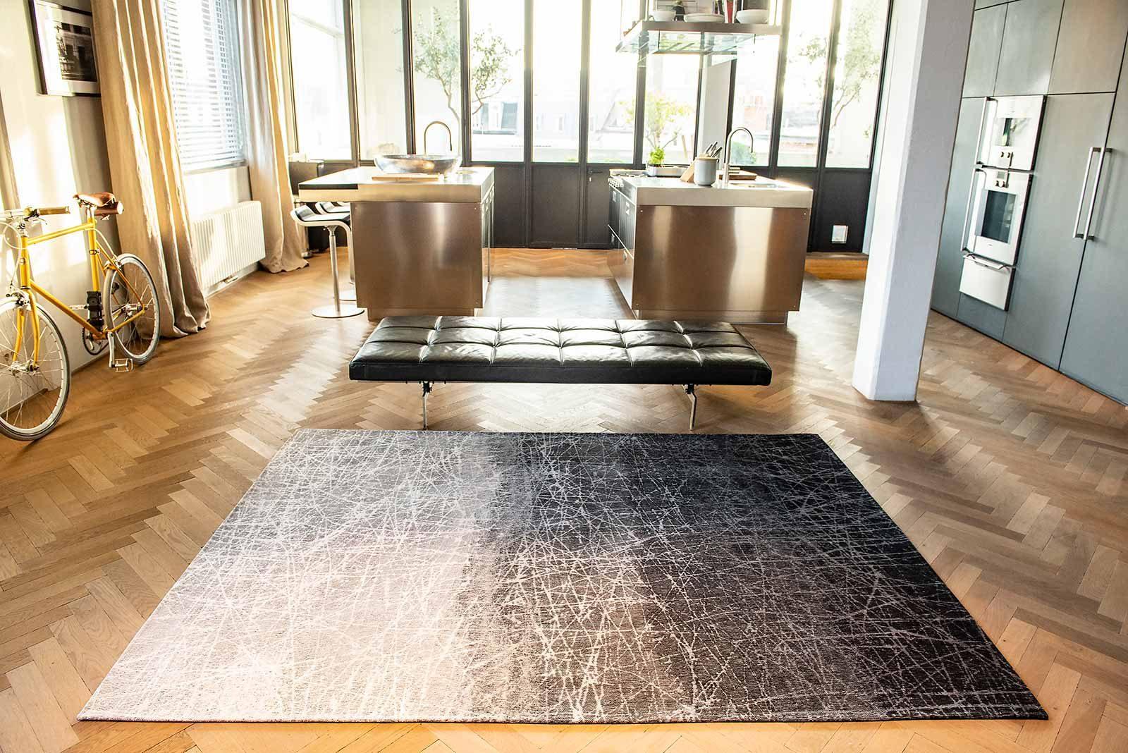 tapis Louis De Poortere LX 8881 Mad Men Fahrenheit Wind Chill Grey interior 3