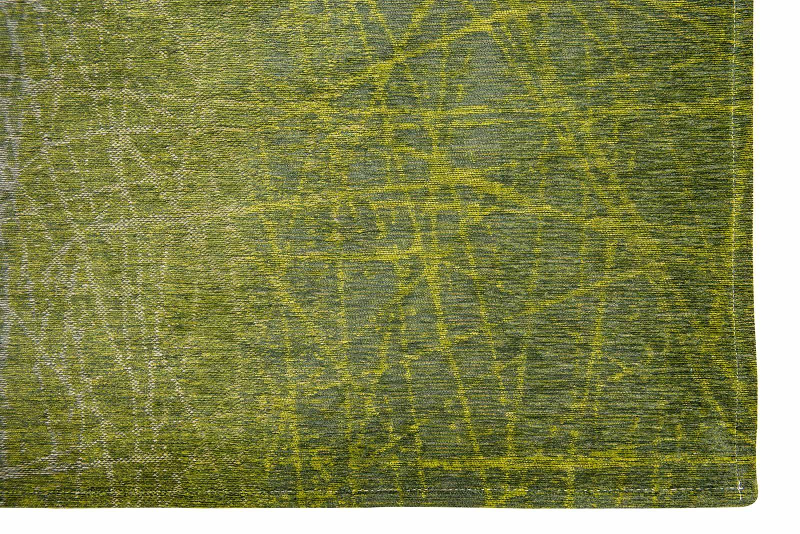 tapis Louis De Poortere LX 8882 Mad Men Fahrenheit Central Park Green corner