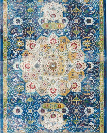 Andessi tapis Ankara Global ANR03 BLUE 5x8 099446456595 main
