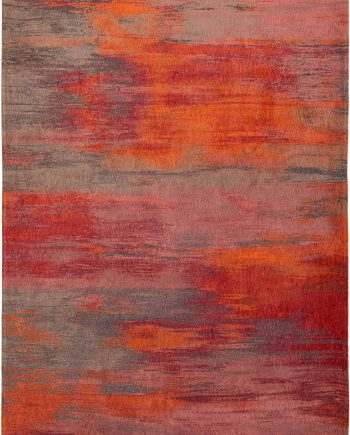 Louis De Poortere tapis LX 9116 Atlantic Monetti Hibiscus Red