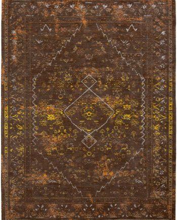 Louis De Poortere 8521 Diamonds Bistre Blanket FLATDOWN